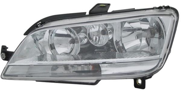H1 / H1 / H7 Scheinwerfer links TYC für FIAT Idea 03-05