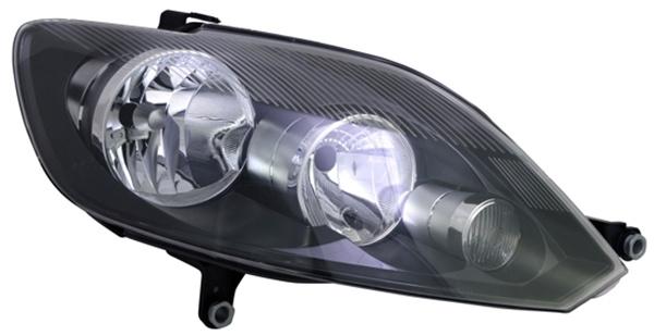 H7 / H15 Scheinwerfer rechts TYC für VW Golf Plus 09-