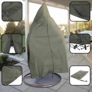 Premium Schutzabdeckung Schutzhülle Cover für Hängesessel Hellgrau 190x100cm