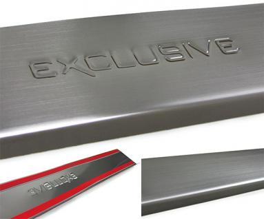 Einstiegsleisten Schutz Edelstahl Exclusive für Nissan Micra 3 K12 4Türer 03-10 - Vorschau 3