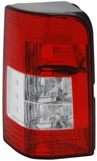 Rückleuchte / Heckleuchte rot weiß links TYC für Citroen Berlingo M / MF 05-08