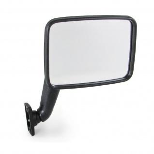 Außenspiegel mit Spiegelglas rechts für VW Transporter Bus T2 T3 79-92