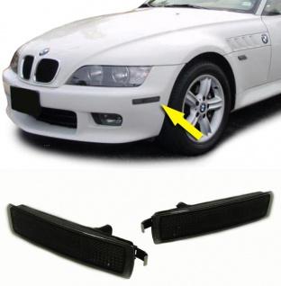 Schwarze Seitenbegrenzungsleuchten für BMW Z3 ab 1999 - Vorschau 1