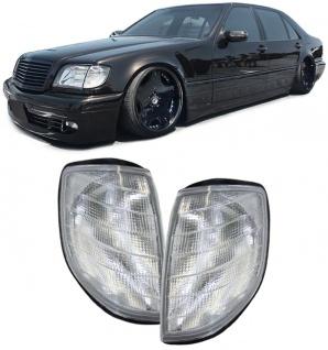 Blinker weiß - Paar für Mercedes S Klasse W140 91-94