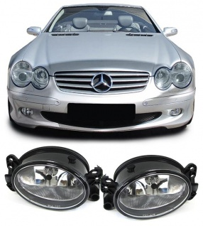 Klarglas Nebelscheinwerfer H11 für Mercedes W204 W164 W463 W209 W219 W169 W211