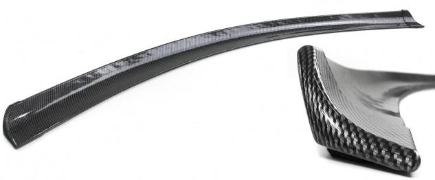 Heckspoiler Lippe Streifen zum kleben universal flexibel 1, 45mx2cm Carbon Look