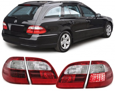 LED Rückleuchten rot weiß für Mercedes E Klasse W211 S211 T Modell Kombi 02-06