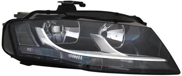 H7 / H7 Scheinwerfer rechts TYC für Audi A4 8K 07-11