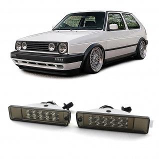 LED Klarglas Blinker schwarz für VW Golf 2 GL - Vorschau 1