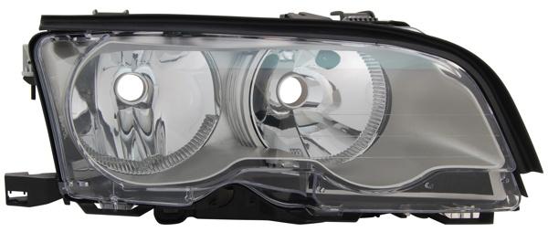 H7 / H7 Scheinwerfer Titanium rechts TYC für BMW 3ER Coupe Cabrio E46 01-03