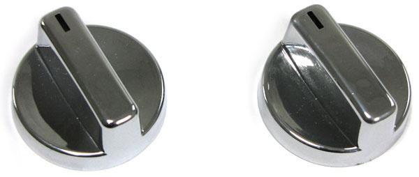 Dreh Schalter Regler für Lüftung und Heizung chrom 2 Stück für BMW 3ER E36 - Vorschau 3