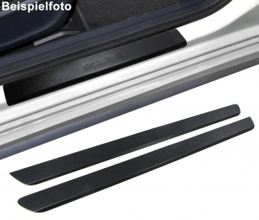 Einstiegsleisten Schutz schwarz Exclusive für Citroen C2 ab 03
