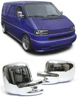 Chrom Spiegelkappen Abdeckungen für VW T4 Bus Transporter 90-03