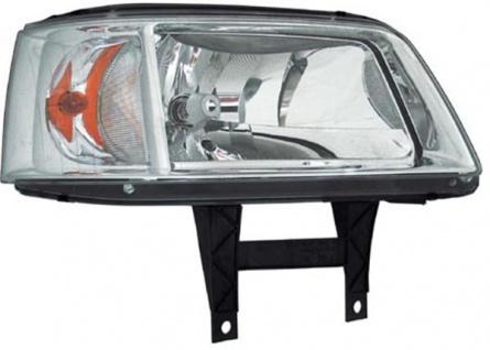H4 Scheinwerfer chrom rechts TYC für VW Multivan T5 03-09
