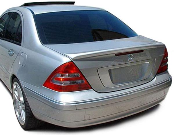 heck spoiler lippe sport look f r mercedes c klasse w203 limousine 00 07 kaufen bei carparts. Black Bedroom Furniture Sets. Home Design Ideas