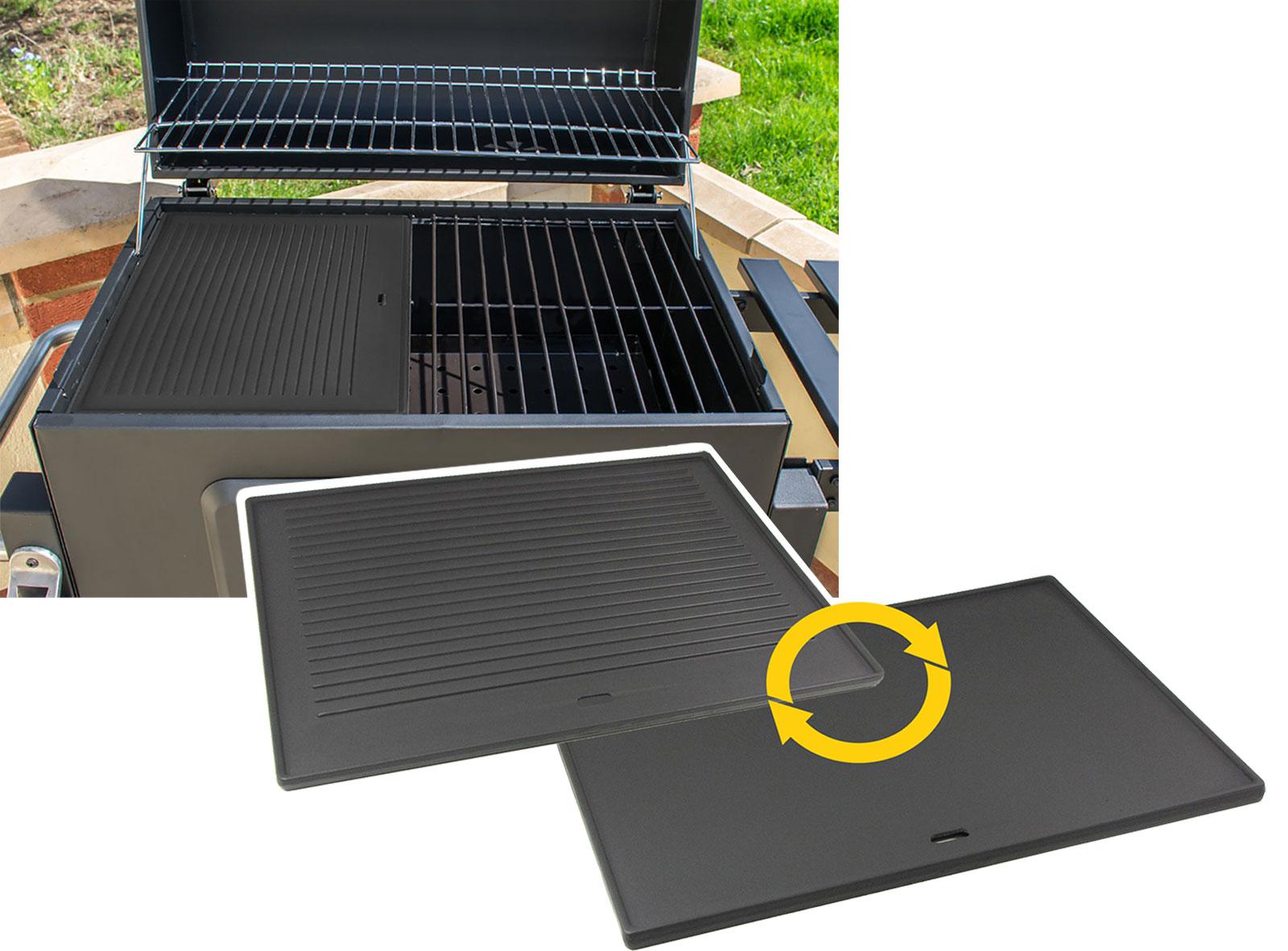 Grillplatte Für Gasgrill : Edelstahl plancha für napoleon gasgrills grillplatte griddle