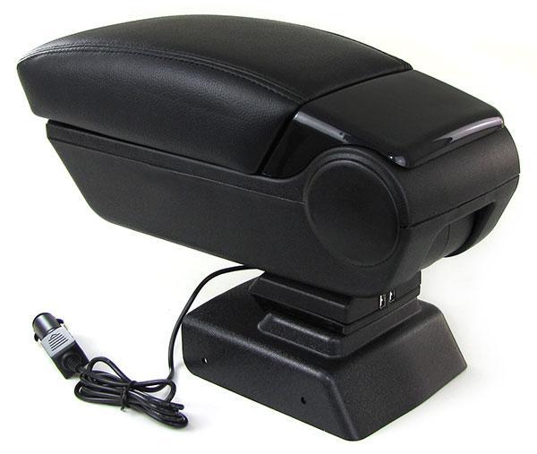 Armlehne Mittelarmlehne klappbar mit Staufach 2 USB für Dacia Duster ab 11