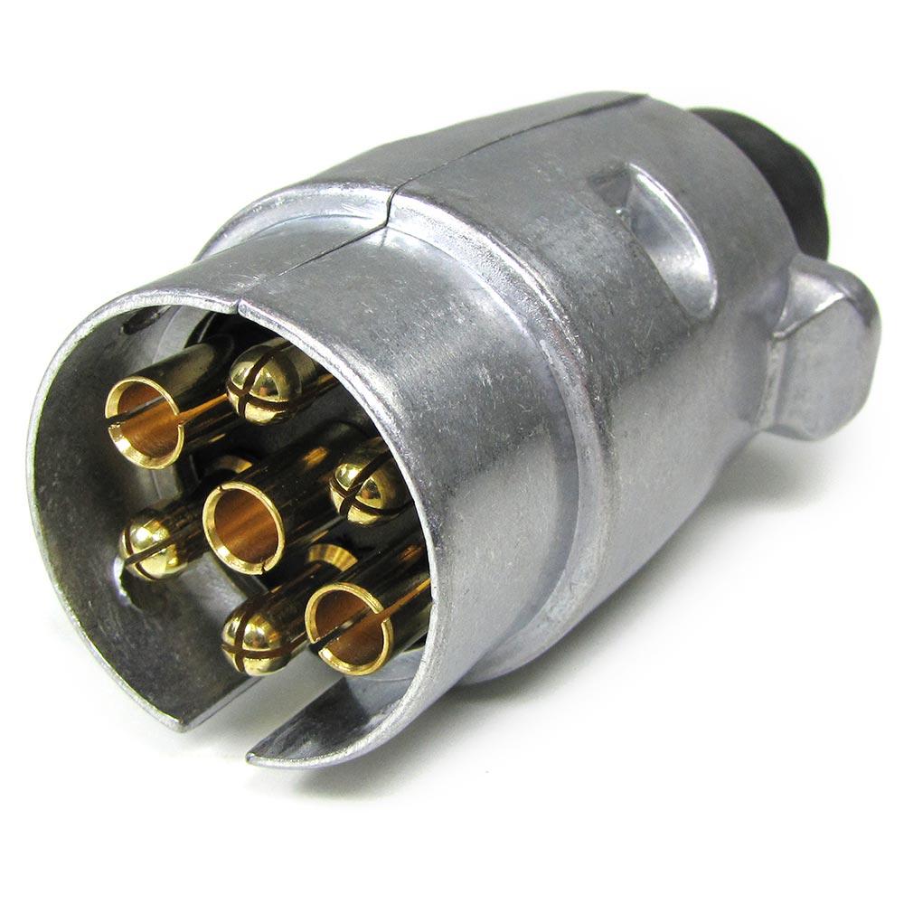 auto anh nger adapter stecker 7 polig iso 1724 f r 12v. Black Bedroom Furniture Sets. Home Design Ideas