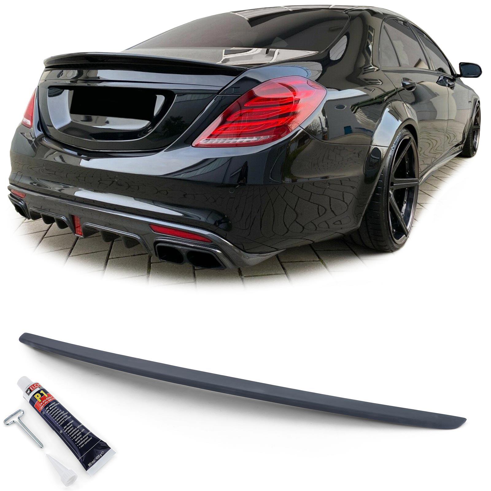 Heckspoiler Spoilerlippe Sport Optik für Mercedes S Klasse W222 ab 13