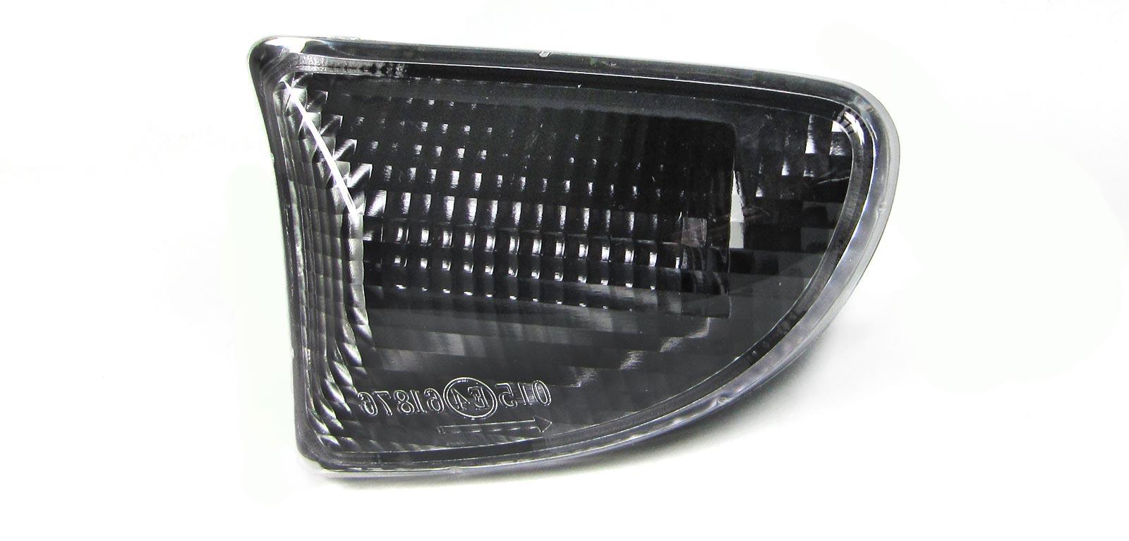 Seitenblinker schwarz smoke für Smart Fortwo Coupe Cabrio 451 ab 07