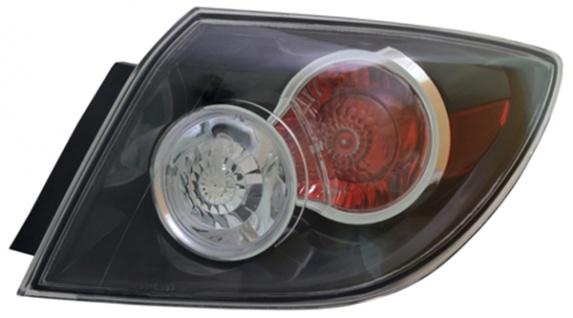 Rückleuchte / Heckleuchte Aussen schwarz rechts TYC für Mazda 3 BK 06-09