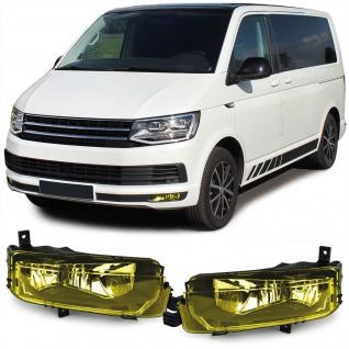 Klarglas Nebelscheinwerfer H11 Gelb für VW Bus T6 Multivan Transporter ab 15