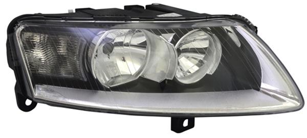 H7 / H15 Scheinwerfer rechts TYC für Audi A6 4F 08-11