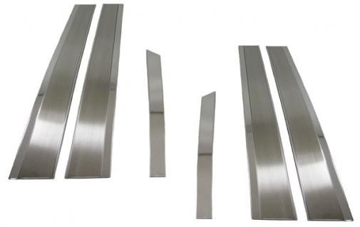 Edelstahl Fensterleisten Türleisten B-Säule für Mercedes W211
