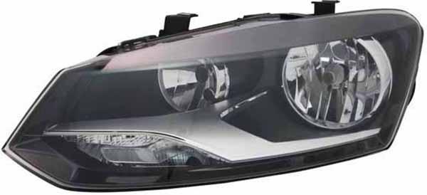 H7 / H7 Scheinwerfer links TYC für VW Polo 6R 09-