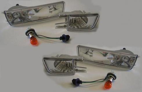 Klarglas Blinker mit Nebelscheinwerfer Dummy - Set für VW Golf 3 91-97
