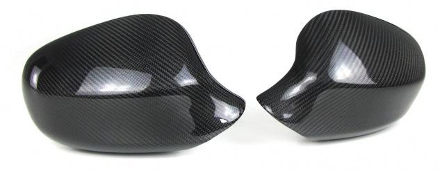 Echt Carbon Spiegelkappen zum Austausch für BMW 3er E90 E91 Facelift 08-11
