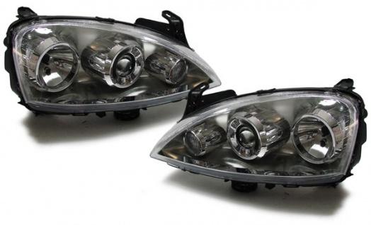 Projektor Ellipsoid Scheinwerfer für Opel Corsa C 00-06