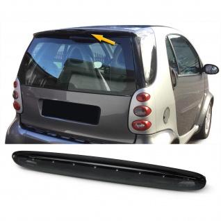 Dritte LED Bremsleuchte Klarglas schwarz für Smart ForTwo 450 98-07