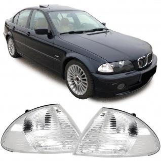 Blinker weiß Paar für BMW 3er Limousine Touring E46 98-01