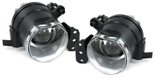 Projektor Nebelscheinwerfer Set chrom für BMW 3ER E46 Coupe Cabrio 03-06