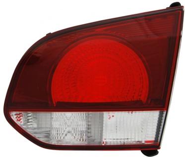 Rückleuchte / Heckleuchte innen schwarz smoke rechts TYC für VW Golf VI 08-