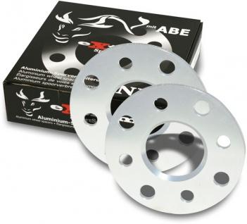 20 mm Alu Spurverbreiterung Spurplatten 4 X 100 für Seat Ibiza 6K