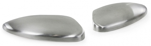 Aussen Spiegelkappen Abdeckungen Cover Alu matt für Ford Kuga II DM2 ab 12