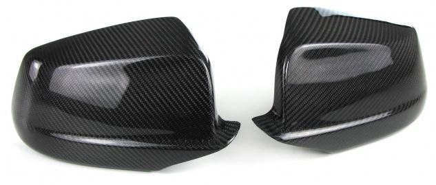 Echt Carbon Spiegelkappen zum Austausch für BMW 5er F10 F11 Vorfacelift 10-13