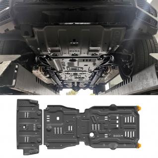 Offroad Aluminium Unterfahrschutz 3tlg Set für Mercedes G Klasse W463 G500 ab 18