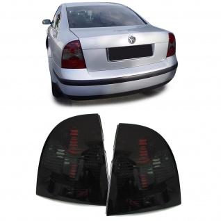 Klarglas Rückleuchten schwarz smoke für VW Passat 3BG Limousine 00-05