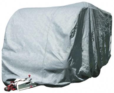 Wohnwagen Caravan Garage Abdeckung Cover Größe M 520x226x220cm