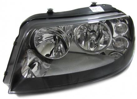 H7 H1 Scheinwerfer schwarz links für VW Sharan ab 2000