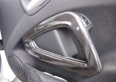 Carbon Cover Tür Blende rechts für Smart 451 ab 07 - Vorschau 3