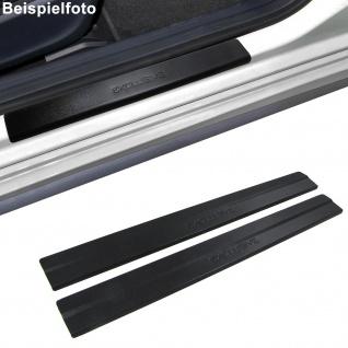 Edelstahl Einstiegsleisten Exclusive schwarz für ALFA Romeo 147 00-10