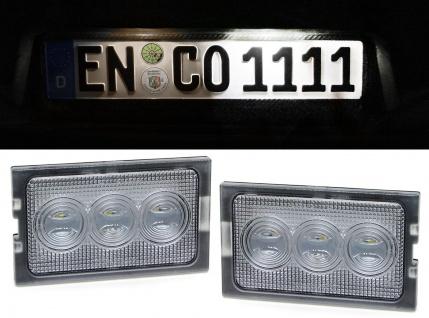 LED Kennzeichenbeleuchtung weiß 6000K für Land Range Rover Discovery 3 4