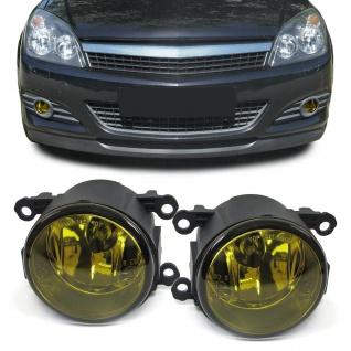 Klarglas Nebelscheinwerfer H11 Gelb für Renault Suzuki Opel Citroen Peugeot Ford - Vorschau 1