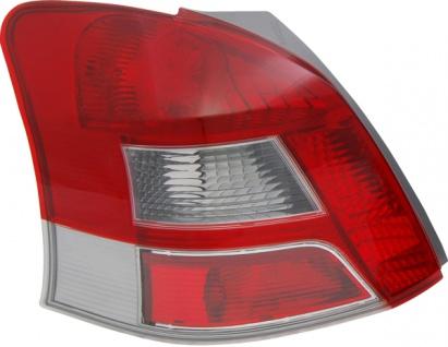 LED Rückleuchte / Heckleuchte weiß links TYC für Toyota Yaris P9 09-