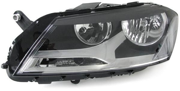 H7 H7 SCHEINWERFER LINKS FÜR VW Passat B7 Typ 36 ab 10