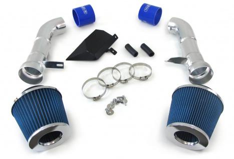 Air Intake Kit mit Sport Luftfilter Chrom blau für Nissan 350Z 230kw 07-09